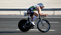 12 MAR 2011 - ABU DHABI, UAE - Frederik Van Lierde - Abu Dhabi International Triathlon (PHOTO (C) NIGEL FARROW)