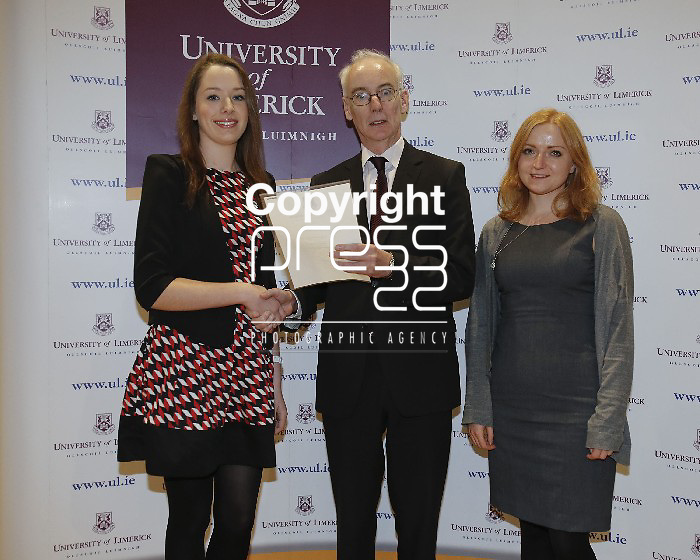 06/12/2013 Eugina O'Sullivan, Colaiste Choilm, Ballincollig, Co Cork,  pictured a at a scholarship award ceremony at the University of Limerick. Picture: Don Moloney / Press 22