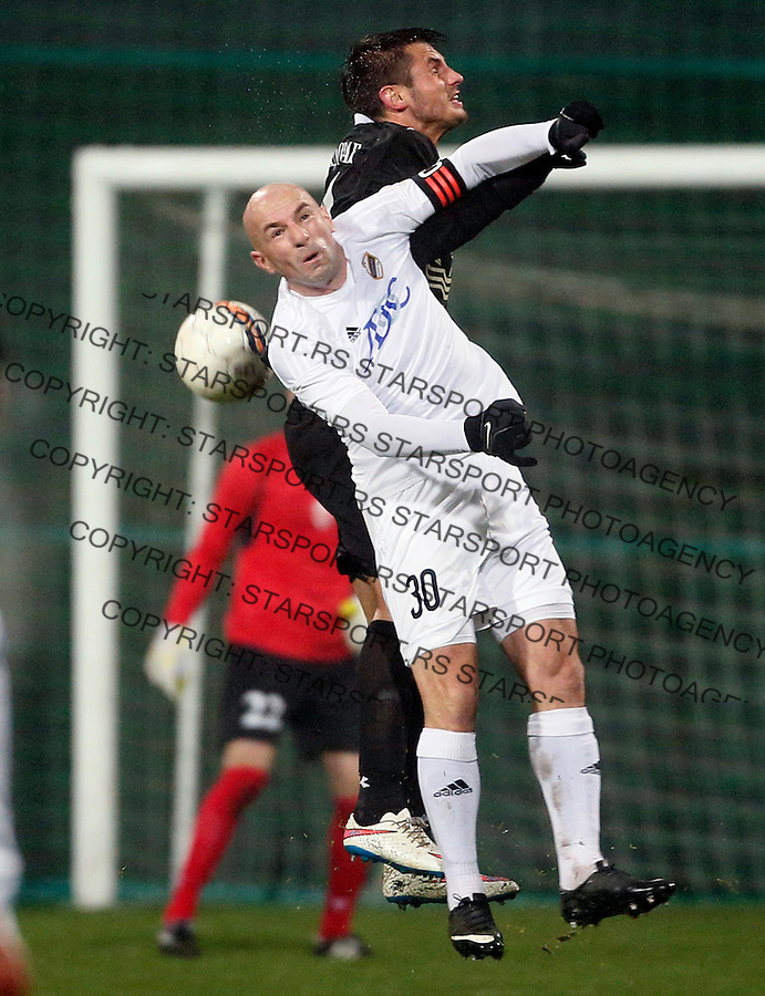 Nenad Mirosavljevic Fudbal, Super liga Srbije, Cukaricki - Vozdovac 16.12.2015.<br /> 16. Decembar 2015. (credit image &amp; photo: Pedja Milosavljevic / STARSPORT)