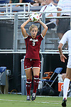 14 August 2014: South Carolina's Carly Ray. The Duke University Blue Devils hosted the University of South Carolina Gamecocks at Koskinen Stadium in Durham, NC in a 2014 NCAA Division I Women's Soccer preseason match. Duke won the exhibition 2-0.