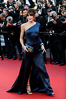 """CANNES - MAY 15:  Carla Bruni-Sarkozy arrives to the premiere of """" LES MISÉRABLES """" during the 2019 Cannes Film Festival on May 15, 2019 at Palais des Festivals in Cannes, France.      <br /> CAP/MPI/IS/LB<br /> ©LB/IS/MPI/Capital Pictures"""