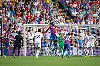 Crystal Palace's Christian Benteke in action                <br /> <br /> <br /> Photographer Craig Mercer/CameraSport<br /> <br /> The Premier League - Crystal Palace v Swansea City - Saturday 26th August 2017 - Selhurst Park - London<br /> <br /> World Copyright &copy; 2017 CameraSport. All rights reserved. 43 Linden Ave. Countesthorpe. Leicester. England. LE8 5PG - Tel: +44 (0) 116 277 4147 - admin@camerasport.com - www.camerasport.com