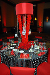 Some of the decorations at the American Heart Association Heart Ball at the Hilton Americas Houston Saturday Feb 07, 2009.(Dave Rossman/For the Chronicle)