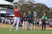 Webb Simpson (USA) on the 16th during the First Round - Four Ball of the Presidents Cup 2019, Royal Melbourne Golf Club, Melbourne, Victoria, Australia. 12/12/2019.<br /> Picture Thos Caffrey / Golffile.ie<br /> <br /> All photo usage must carry mandatory copyright credit (© Golffile | Thos Caffrey)