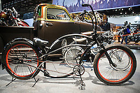 Motosalone Eicma edizione 2012. bicicletta custom..International Motorcycle Exhibition 2012: a custom bicycle.