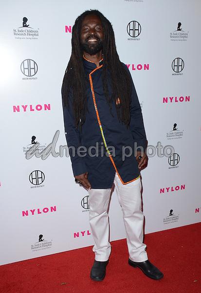 09 February  - Hollywood, Ca - Rocky Dawuni. Arrivals for the NYLON Magazine Pre-Grammy Party held at No Vacancy. Photo Credit: Birdie Thompson/AdMedia