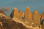 Peaks, Torres del Paine, Torres del Paine National Park, Patagonia, Chile