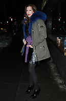 NEW YORK, NY - JANUARY 11: Alysia Reiner arriving at the IFC Films premiere of Freak Show at the Landmark Sunshine Cinema in New York City on January 10, 2018. Credit: RW/MediaPunch
