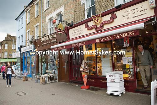 The Honey Shop Northcote Road Clapham Wandsworth SW London.
