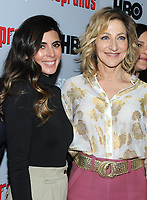 NEW YORK, NY - January 9: Jamie-Lynn Sigler and Edie Falco at HBO And Split Screens Festival The Sopranos 20th Anniversary panel discussion at the SVA Theatre in New York City on January 9, 2019. Credit: John Palmer/MediaPunch