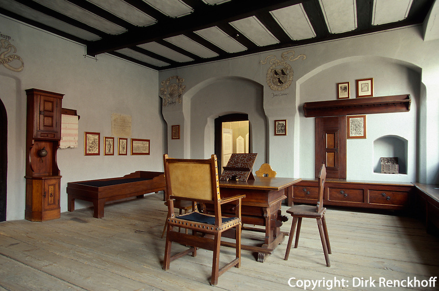 Deutschland, Sachsen-Anhalt, Melanchthonhaus in Wittenberg, Unesco-Weltkulturerbe