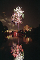 Fireworks at the Forks of the Thames