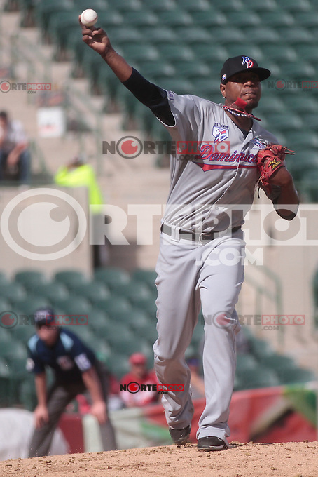 pitcher Edward Valdez  (dominicano) durante  la Serie del Caribe 2013  de Beisbol,  Puerto Rico  vs Republica Dominicana ,  en el estadio Sonora el 2 de febrero de 2013...© (foto:BaldemarDeLosLlanos/NortePhoto)........during the 2013 Caribbean Series Baseball, Puerto Rico vs Dominican Republic in Sonora Stadium on February 2, 2013 ...© (photo: Baldemar of Llanos / NortePhoto)...http://mlb.mlb.com/mlb/events/winterleagues/league.jsp?league=cse
