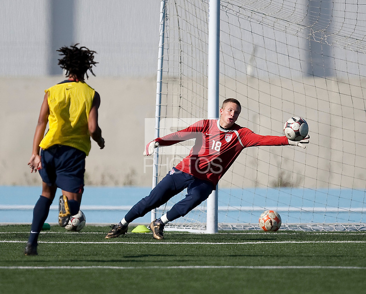 Spencer RIchey training. 2009 CONCACAF Under-17 Championship From April 21-May 2 in Tijuana, Mexico
