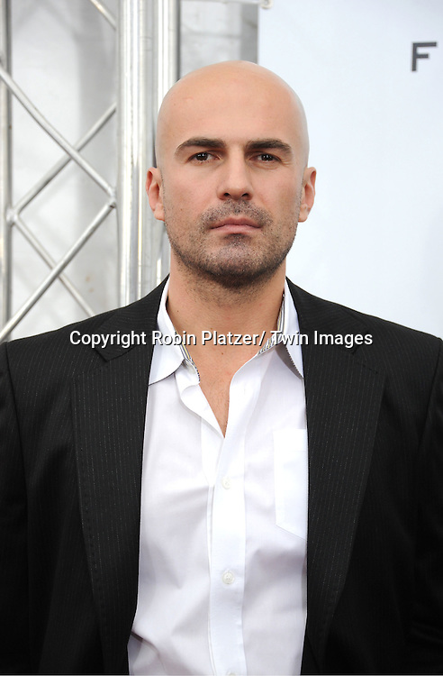 "actors Ermin Bravo  attends The New York Premiere of Angelina Jolie's movie .."" In the Land of Blood and Honey"" on December 5, 2011 at The School of Visual Arts Theatre in New York City."