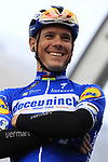 Philippe Gilbert (BEL) Deceuninck-Quick Step on stage at sign on before the 2019 Gent-Wevelgem in Flanders Fields running 252km from Deinze to Wevelgem, Belgium. 31st March 2019.<br /> Picture: Eoin Clarke | Cyclefile<br /> <br /> All photos usage must carry mandatory copyright credit (© Cyclefile | Eoin Clarke)