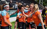 AMSTELVEEN  -  Robine Koerts (Gro)  Hoofdklasse hockey dames ,competitie, dames, Amsterdam-Groningen (9-0) .     COPYRIGHT KOEN SUYK