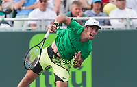BORNA CORIC (CRO)<br /> <br /> MIAMI OPEN, CRANDON PARK, KEY BISCAYNE, FLORIDA, USA<br /> <br /> &copy; TENNIS PHOTO NETWORK