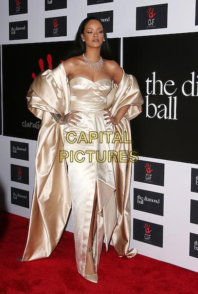 Santa Monica, CA - December 10 Rihanna Attending Rihanna and The Clara Lionel Foundation Host 2nd Annual Diamond Ball At The Barker Hanger On December 10, 2015. <br /> CAP/MPI/FS<br /> &copy;FS/MPI/Capital Pictures