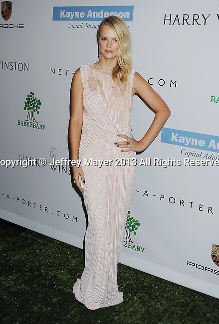 CULVER CITY, CA- NOVEMBER 09: Kelly Sawyer Patricof arrives at the 2nd Annual Baby2Baby Gala at The Book Bindery on November 9, 2013 in Culver City, California.
