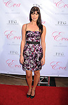 HOLLYWOOD, CA. - April 27: Sarah Lancaster  arrives at Eva Longoria Parker's Fragrance Launch Event at Beso on April 27, 2010 in Hollywood, California.
