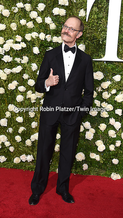 David Hyde Pierce attends the 71st Annual  Tony Awards on June 11, 2017 at Radio City Music Hall in New York, New York, USA.<br /> <br /> photo by Robin Platzer/Twin Images<br />  <br /> phone number 212-935-0770