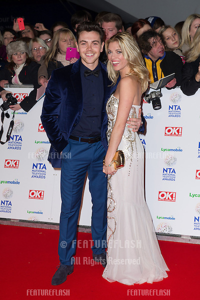 Ray Quinn arriving for the National TV Awards 2014, at the O2, London. 22/01/2014 Picture by: Dave Norton / Featureflash