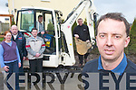 Cyril Wharton, Firies, from C. Wharton Plant Services Ltd, who has secured the rights to supply Terex machines in Kerry. L-r: Trish Kennedy, Mike OShea (Terex), Conor Regan, Sam Tyther (Phoenix Restaurant, Castlemaine), Douglas Buchanan (Terex) and Cyril Wharton..