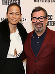 Nora Ariffin and Duncan Sheik attends the opening night performance of the MCC Theater's 'Alice By Heart' at The Robert W. Wilson Theater Space on February 26, 2019 in New York City.
