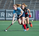 AMSTELVEEN -  Elin van Erk (Lar)   tijdens   de oefenwedstrijd tussen Amsterdam en Laren dames   COPYRIGHT KOEN SUYK