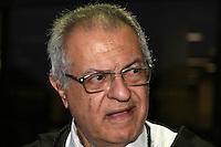SAO PAULO, SP, 17 DE SETEMBRO DE 2013 -  CASO BIANCA CONSOLI. 31 anos foi a pena dada ao motoboy Sandro Dota (42), acusado de estuprar e matar a ex-cunhada, Bianca Consoli, quando ela tinha 19 anos, em 2011, pela Juíza Dra. Fernanda Afonso de Almeida proferiu a sentença, sendo 23 pelo assassinato e 08 pelo estupro, no Fórum Criminal Ministro Mário Guimarães – Barra Funda – zona oeste da Capital. Na foto: Adv defesa Mauro Otavio Nacif. FOTO: MAURICIO CAMARGO / BRAZIL PHOTO PRESS
