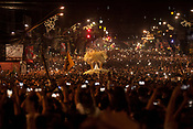 Milhares de peregrinos participam da trasladação uma outra grande procissão noturna que acontece as vésperas da maior procissão católica do Brasil, o Círio de Nossa Senhora da Nazaré, que este ano completa 225 anos. Durante o percurso com cerca de 4 km, os pagadores de promessas carregam réplicas de barcos, casas, partes do corpo humano feitas em cera, entre vários outros objetos, para agradecer ou pedir milagres a nossa Senhora de Nazaré.