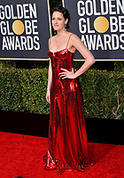 LOS ANGELES, CA. January 06, 2019: Phoebe Waller-Bridge at the 2019 Golden Globe Awards at the Beverly Hilton Hotel.<br /> Picture: Paul Smith/Featureflash