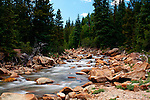 The North Fork of Lake Creek near Mount Elbert and Buena Vista, Colorado.