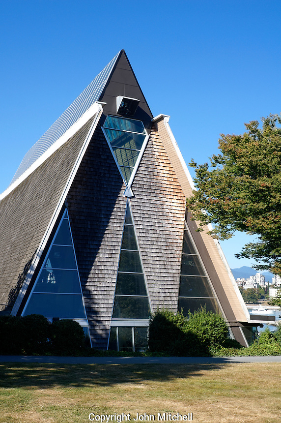 The Vancouver Maritime Museum in Hadden Park, Vancouver, British Columbia, Canada