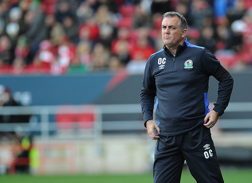 Blackburn Rovers manager Owen Coyle  in action during todays match  <br /> <br /> Photographer Ashley Crowden/CameraSport<br /> <br /> The EFL Sky Bet Championship - Bristol City v Blackburn Rovers - Saturday 22nd October 2016 - Ashton Gate - Bristol<br /> <br /> World Copyright &copy; 2016 CameraSport. All rights reserved. 43 Linden Ave. Countesthorpe. Leicester. England. LE8 5PG - Tel: +44 (0) 116 277 4147 - admin@camerasport.com - www.camerasport.com