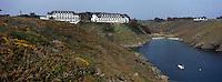 "Europe/France/Bretagne/56/Morbihan/Belle-Ile/Bangor: l'Hotel-Restaurant ""Le Castel Clara""  à l'anse de Port  Goulphar"