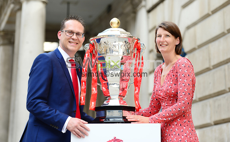 "Picture by Simon Wilkinson/SWpix.com - 19/06/2018 - Rugby League World Cup 2021 ""Inspired By"" Launch Event, The Mansion House, City of London<br /> -"