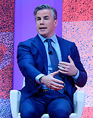 Tom Fitton, president, Judicial Watch, speaks at the Conservative Political Action Conference (CPAC) at the Gaylord National Resort and Convention Center in National Harbor, Maryland on Friday, March 1, 2019.<br /> Credit: Ron Sachs / CNP