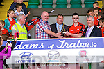 James Duncan Kenmare Captain with the cup after defeating  Crokes in the County Intermediate Final at Austin Stack Park Tralee on Sunday.Alan O'Leary Man of the match after defeating  Crokes in the County Intermediate Final at Austin Stack Park Tralee on Sunday.