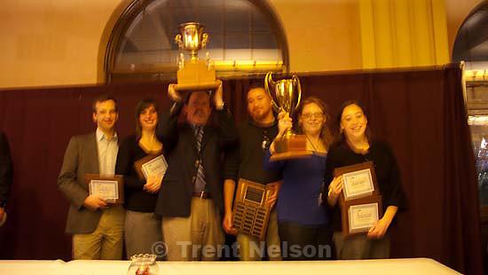 Wyoming Press Association convention Saturday January 17, 2009 in Cheyenne. award winners