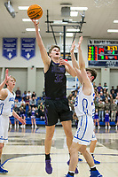 Rogers vs Fayetteville Friday, Feb. 7, 2020, at King Arena in Rogers. Go to nwaonline.com/prepbball/ to see more photos.<br /> (NWA Democrat-Gazette/Ben Goff)