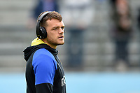 Zach Mercer of Bath Rugby looks on prior to the match. Gallagher Premiership match, between Bath Rugby and Wasps on May 5, 2019 at the Recreation Ground in Bath, England. Photo by: Patrick Khachfe / Onside Images