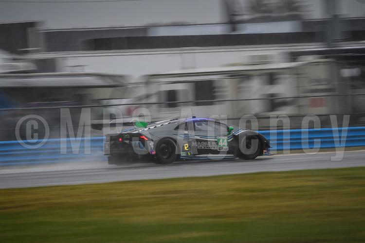 #44 MAGNUS RACING (USA) LAMBORGHINI HURACAN GT3 GTD JOHN POTTER (USA) ANDY LALLY (USA) SPENCER PUMPELLY (USA) MARCO MAPELLI (CHE)
