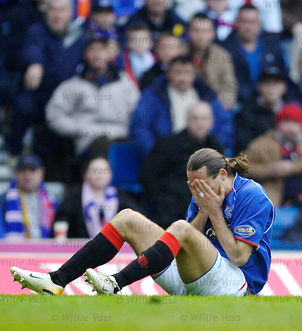 Dado Prso, Rangers.stock season 2005-2006.pic willie vass