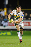 Tom Wood of Northampton Saints during the LV= Cup second round match between Ospreys and Northampton Saints at Riverside Hardware Brewery Field, Bridgend (Photo by Rob Munro)