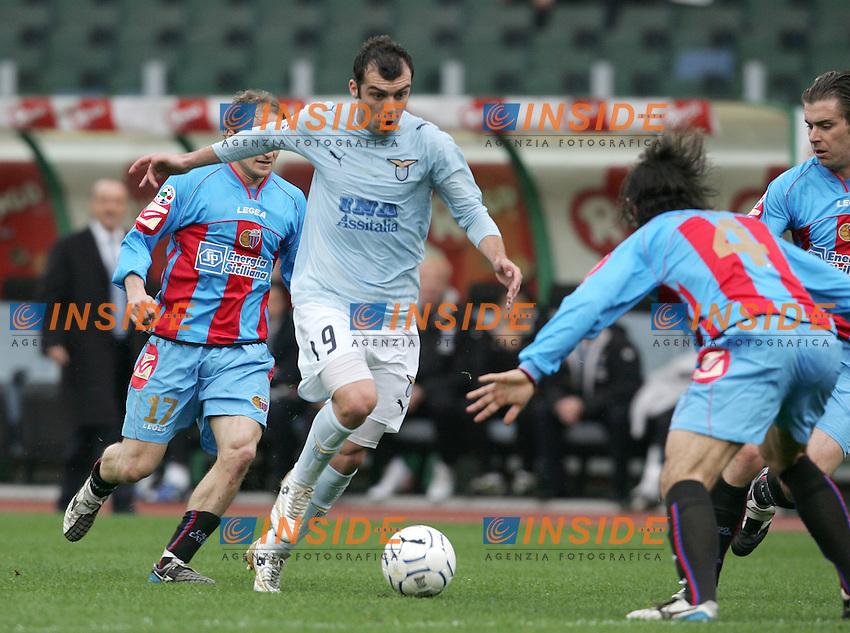 Goran Pandev (Lazio)<br /> 28 Feb 2007 (Match Day 26)<br /> Lazio-Catania (3-1)<br /> &quot;Olimpico&quot;-Stadium-Roma-Italy<br /> Photographer: Andrea Staccioli INSIDE