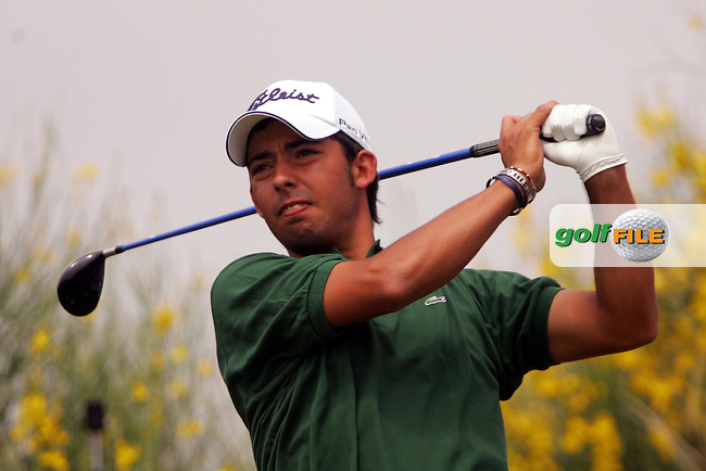 Pablo Larrazabal on the 3rd tee during his third round of the 2008 Open de France ALSTOM at Le Golf National, Paris, France - 29th June 2008 (Photo by Manus O'Reilly/GOLFFILE)