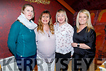Enjoying the evening out in Ristorante Uno on Thursday.<br /> L to r: Catherine Costelloe, Caroline McConnell, Nora Power and Kerry O'Mahoney.