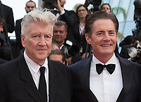 David Lynch, Kyle MacLachlan at the premiere for 'Twin Peaks' at the 70th Festival de Cannes. <br /> May 25, 2017 Cannes, France<br /> Picture: Kristina Afanasyeva / Featureflash